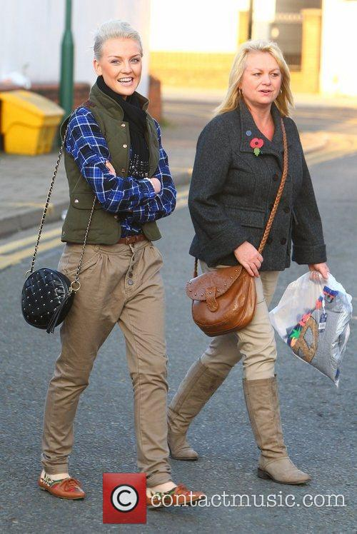 Perrie Edwards of Little Mix and her Mum...