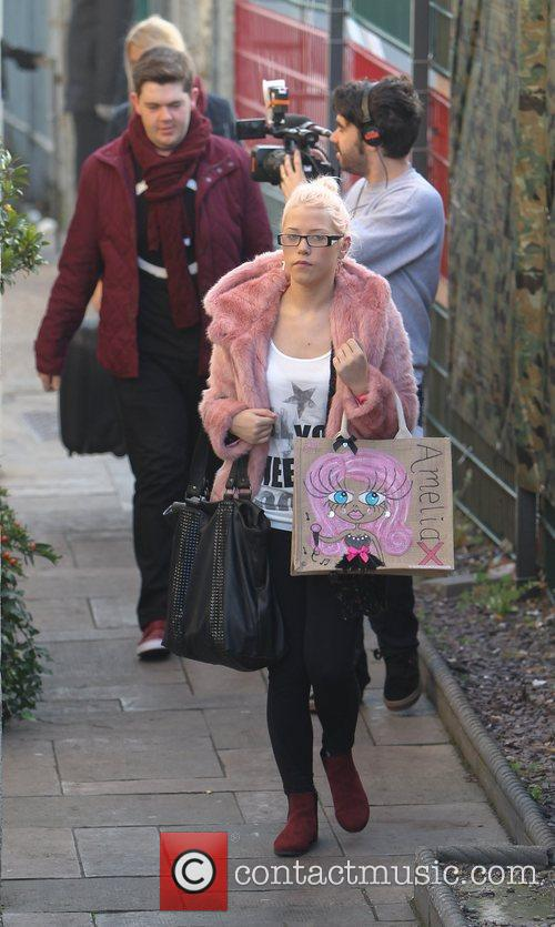 Amelia Lily and The X Factor 8