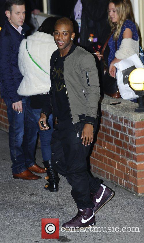 Oritse Williams 'The X Factor' judges, finalists and...