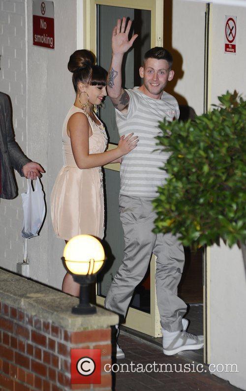 Sophie Habibis and Jonjo Kerr 'The X Factor'...