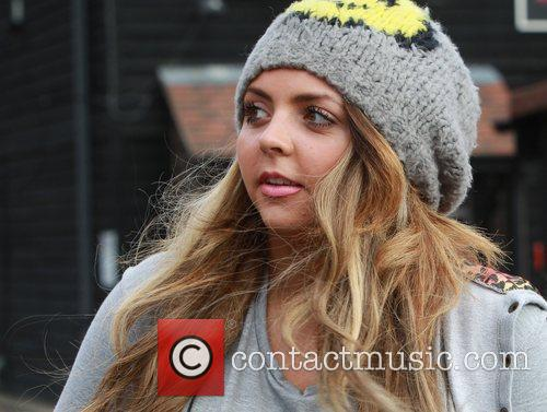 Jesy Edwards of Little Mix at X Factor...
