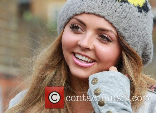 Jesy Nelson of Little Mix at X Factor...