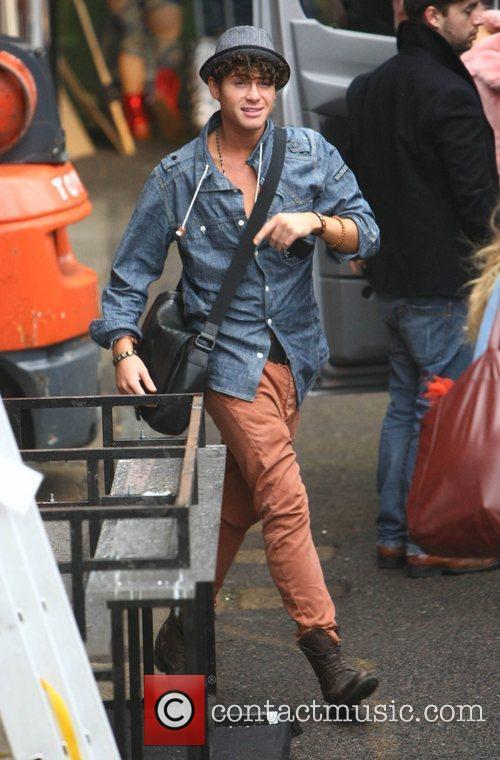 James Michael arrives at 'The X Factor' studios...