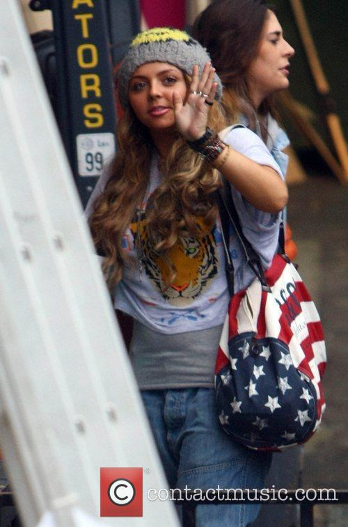 Little Mix's Jesy Nelson arrives at 'The X...