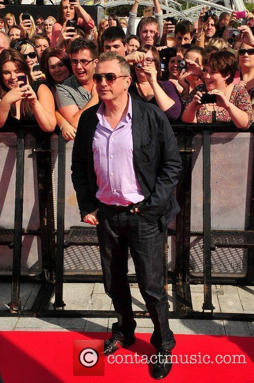 Louis Walsh The X Factor auditions in Liverpool...