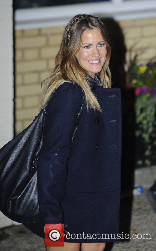 Caroline Flack,  The X Factor finalists leave...