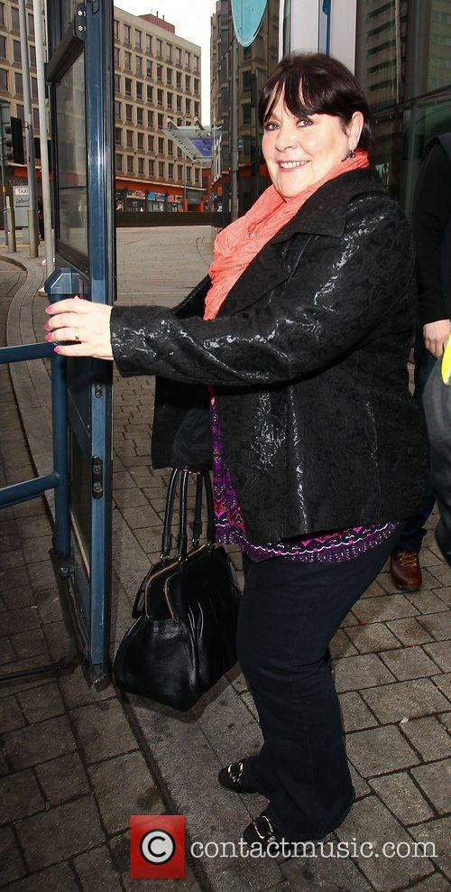 Mary Byrne The X Factor finalists leaving their...