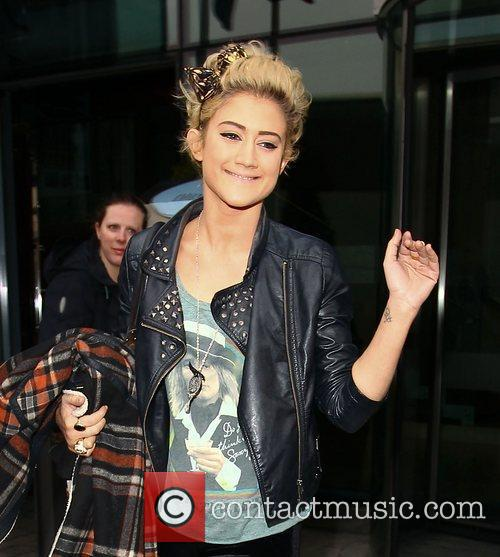 The X Factor finalists leaving their hotel to...