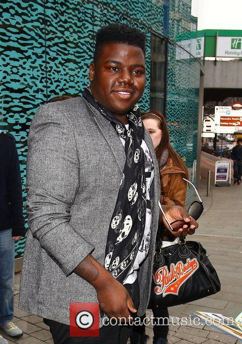 Paije Richardson The X Factor finalists leaving their...