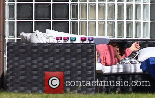 Sophie Habibis at the X Factor House England