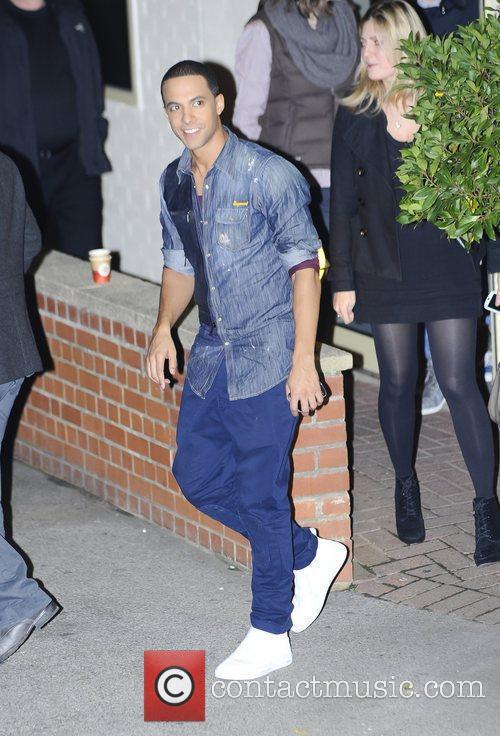 27.11.11 LONDON, Fountain studios, X Factor, JLS members,