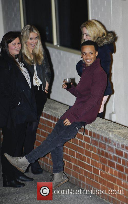 Aston Merrygold 'The X Factor' judges, finalists and...