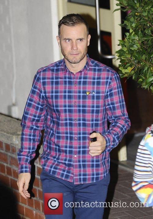 Gary Barlow 'The X Factor' judges, finalists and...