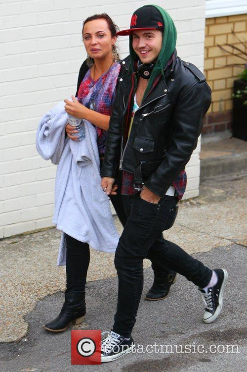 'X Factor' finalists Sophie Habibis and Stefan Romer...