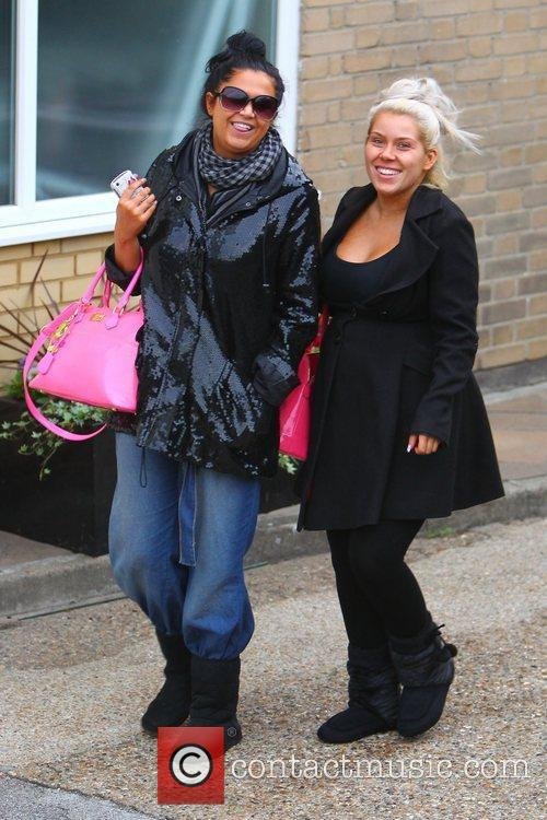'X Factor' finalists Charley Bird and Lucy Texeria...