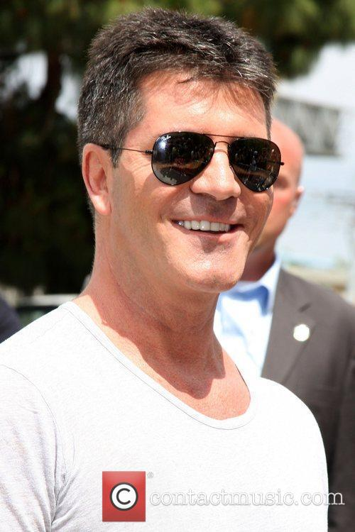 Simon Cowell at the 'The X Factor' Auditions...