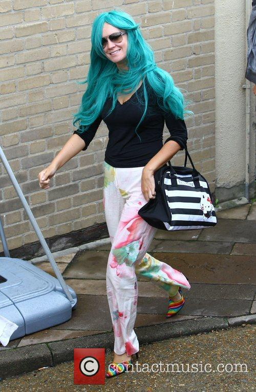 'X Factor' finalist Kitty Brucknell arrives at the...