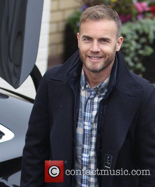 Gary Barlow arrives at 'The X Factor' studios...