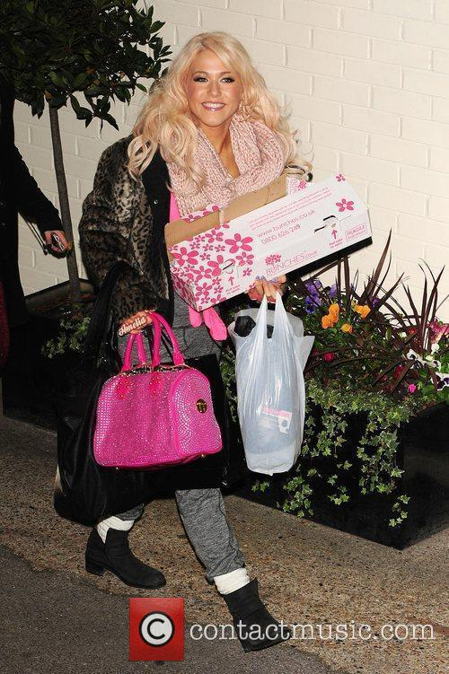 amelia lily leaving x factor fountain studios 3629827