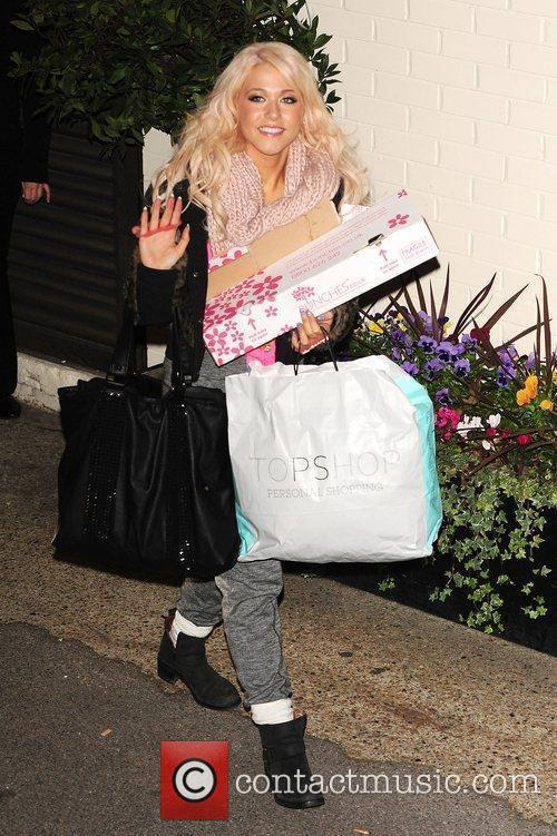 amelia lily leaving x factor fountain studios 3629837