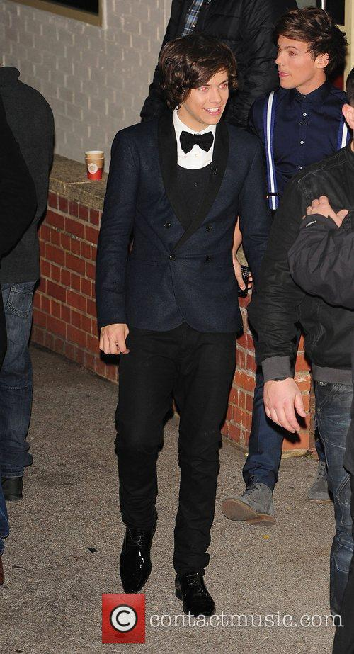 Harry Styles of One Direction leaving X Factor...