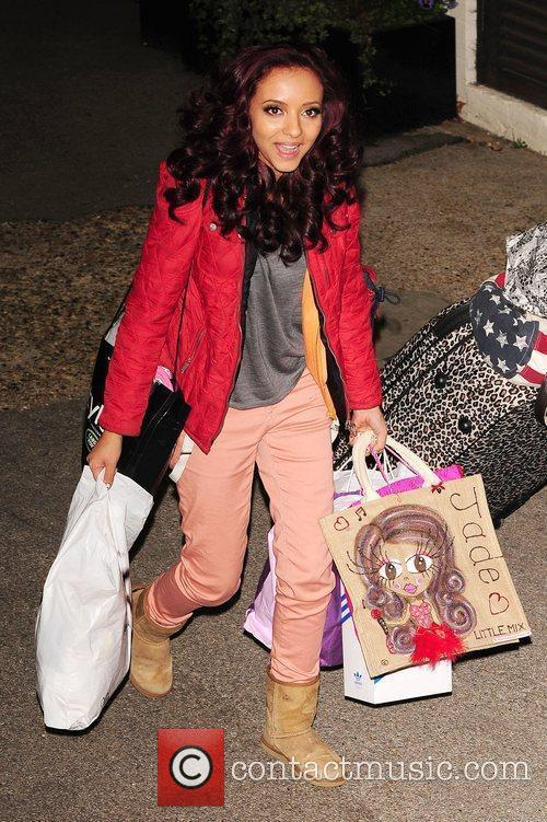 Jade Thirlwall of Little Mix leaving X Factor...