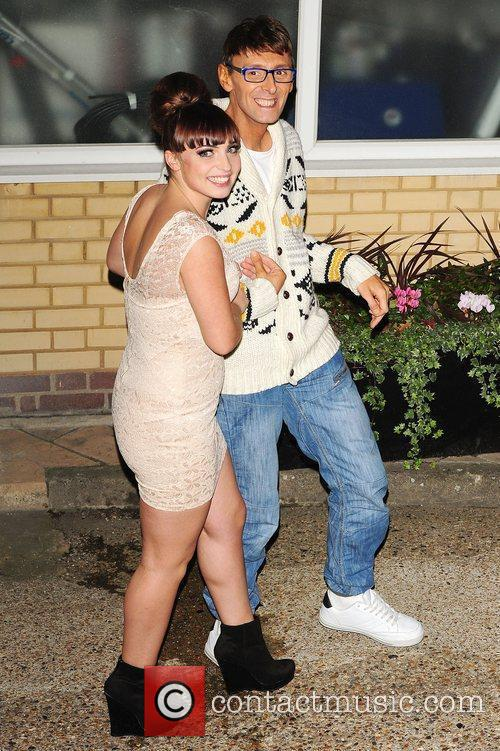 Sophie Habibis and Johnny Robinson leaving X Factor...