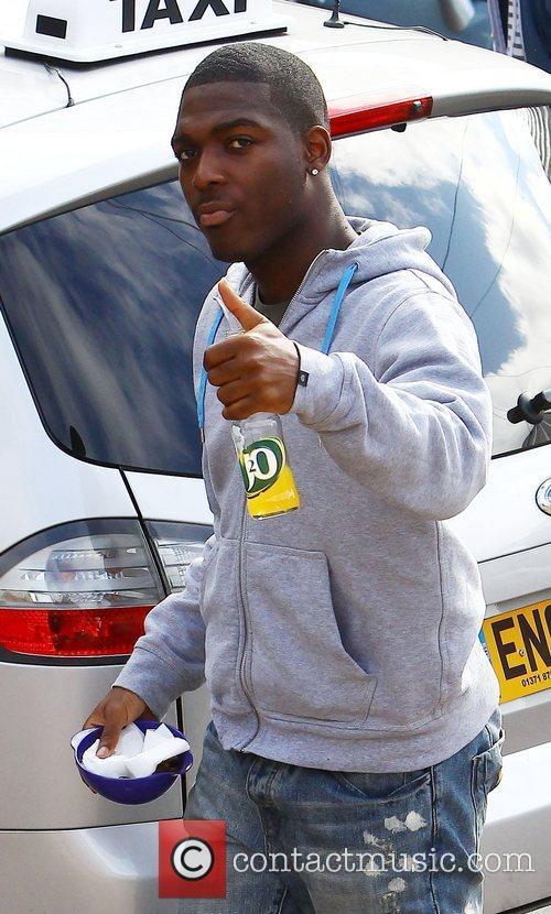 'X Factor' finalist Derry Mensah of The Risk...