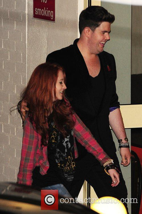 Craig Colton and Janet Devil at X Factor...