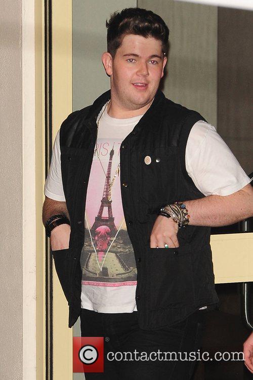 Craig Colton at X Factor Fountain Studios London,...