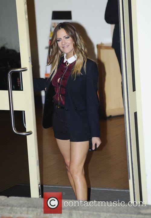 Caroline Flack 'The X Factor' judges and finalists...