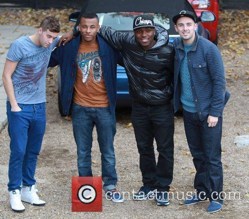 Andrew Merry, Ashford Campbell, Derry Mensah and Charlie...
