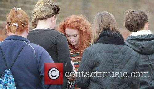 Janet Devlin signs autographs for fans at X...