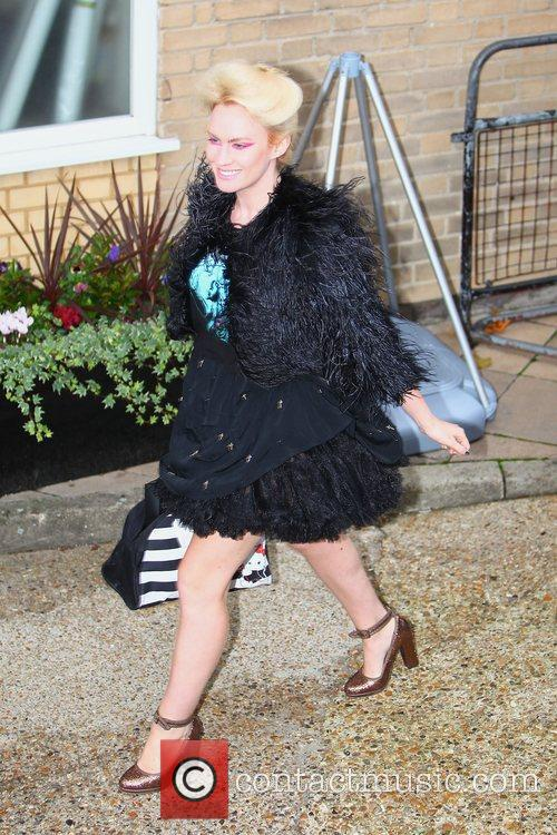 X Factor finalist Kitty Brucknell arrives at 'The...