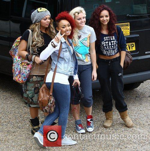 'X Factor' finalists Jesy Nelson, Leigh-Anne Pinnock, Perrie...