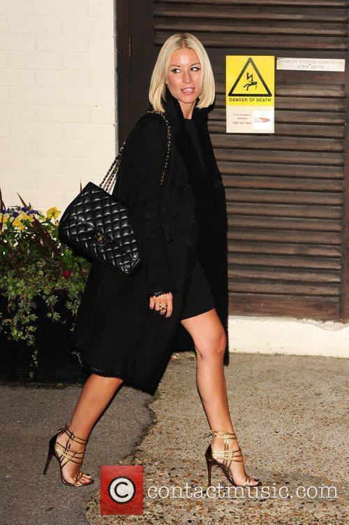 Denise van Outen 'The X Factor' judges and...