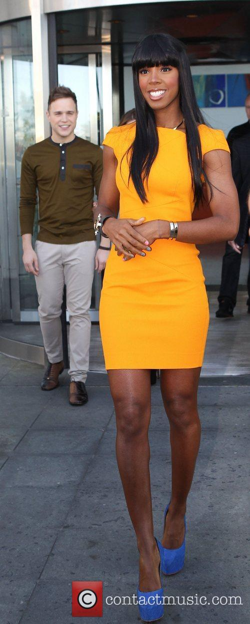 Kelly Rowland and Olly Murs Judges and presenters...