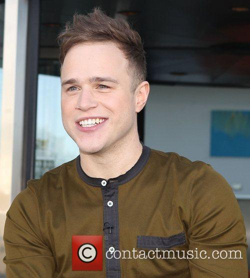 Olly Murs Judges and presenters leave their hotel...