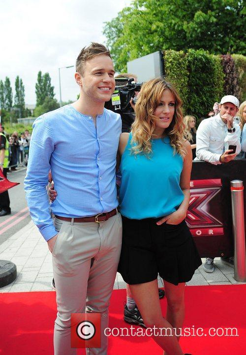 Olly Murs and Caroline Flack 2