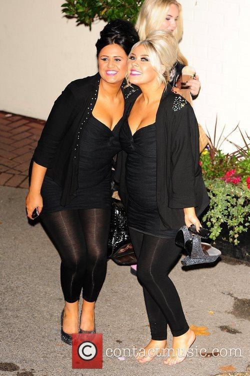 2 shoes  celebrities outside the X Factor...