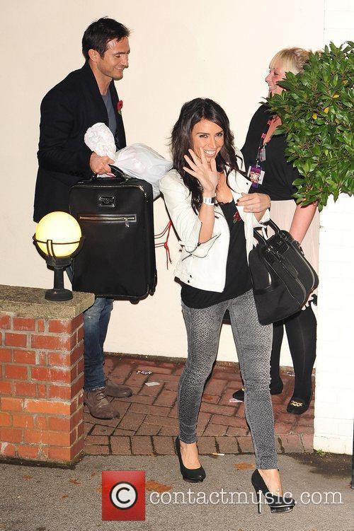 Celebrities outside the X Factor Studios