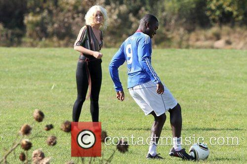 'X Factor' finalists Derry Mensah and Kitty Brucknell...
