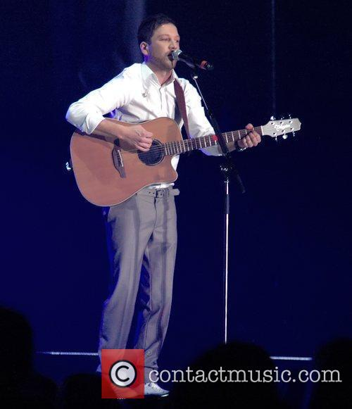 Matt Cardle 'The X Factor' live tour at...