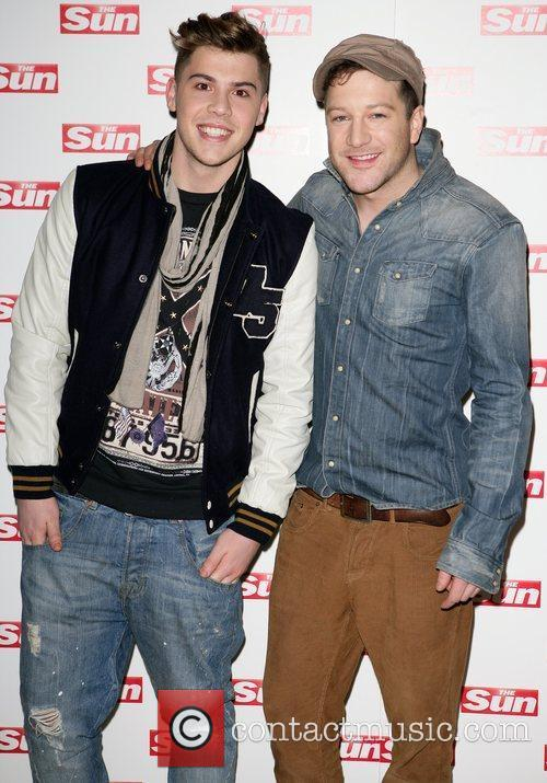 Aiden Grimshaw and Matt Cardle meet and greet...