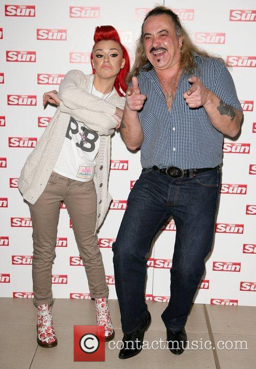Cher Lloyd and Wagner meet and greet at...