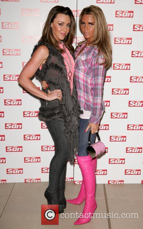 Michelle Heaton and Katie Price meet and greet...