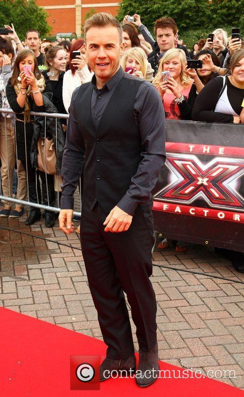 Gary Barlow The X Factor auditions in Manchester...