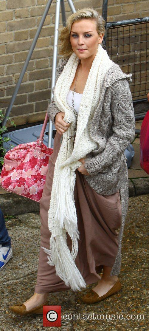 X Factor finalist Perrie Edwards of Little Mix...