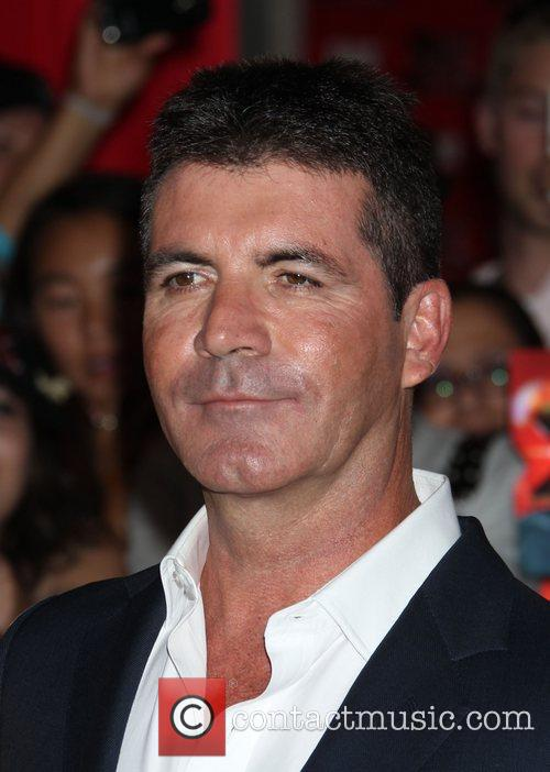 Simon Cowell and Arclight Theater 5