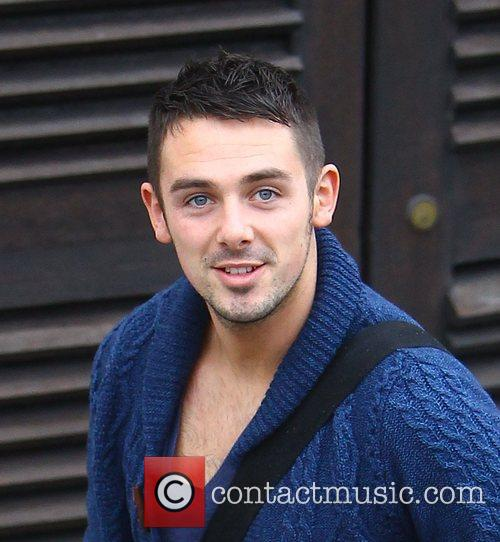 Charlie Healy arrives at the 'X Factor' studios...
